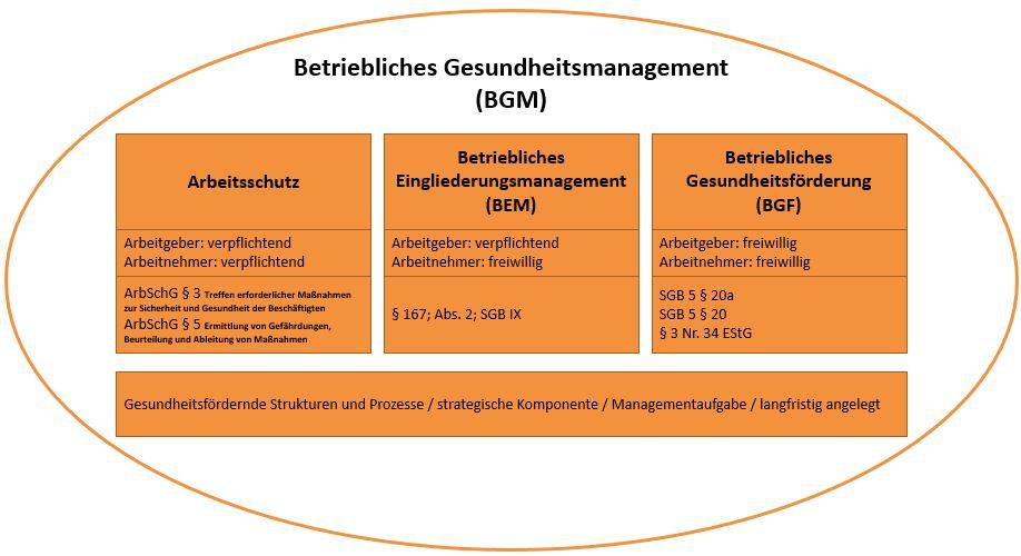 Bestandteile BGM